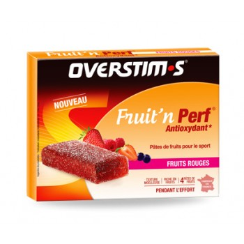 PÂTE DE FRUITS OVERSTIMS FRUIT'N PERF ANTIOXYDANT