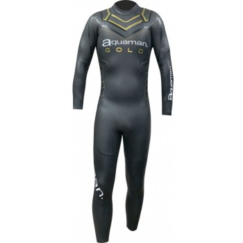 AQUAMAN CELL GOLD WETSUIT FOR MEN'S