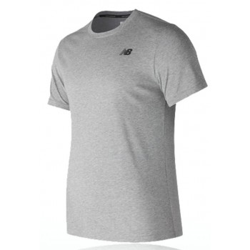 NEW BALANCE HEATHERTECH SHIRT FOR MEN'S