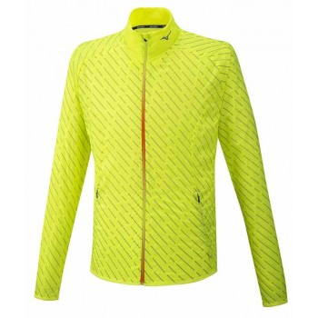 MIZUNO REFLECTIVE WIND JACKET FOR MEN'S