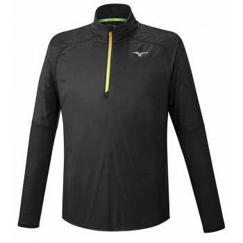 MIZUNO HYBRID DRY AEROFLOW LS HZ MIDLAYER FOR MEN'S