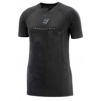 COMPRESSPORT TRAINING SHIRT BLACK EDITION FOR WOMEN'S