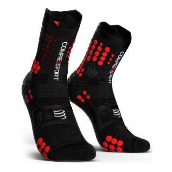 CHAUSSETTES COMPRESSPORT PRO RACING V3 TRAIL SOCKS POUR HOMMES