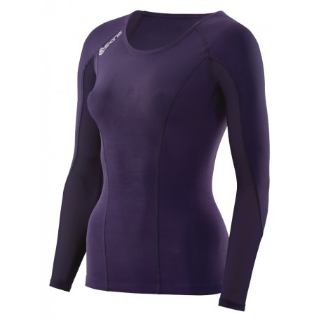 SKINS DNAMIC LONG SLEEVE TOP FOR WOMEN'S