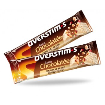 OVERSTIMS WHITE CHOCOLATE BAR