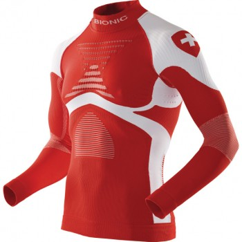X-BIONIC ACCUMULATOR EVO LONG SLEEVE SHIRT SWISS EDITION FOR MEN'S