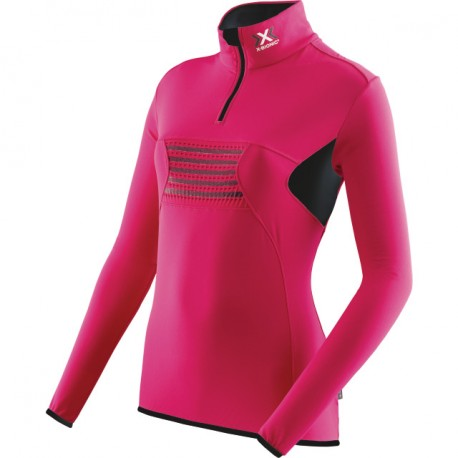 X-BIONIC RACOON ZIP SHIRT FOR WOMEN'S