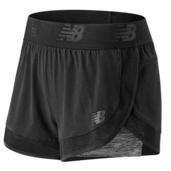 NEW BALANCE TRANSFORM 2 IN 1 SHORT FOR WOMEN'S
