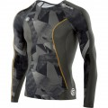 T-SHIRT SKINS DNAMIC MANCHES LONGUES HOMMES
