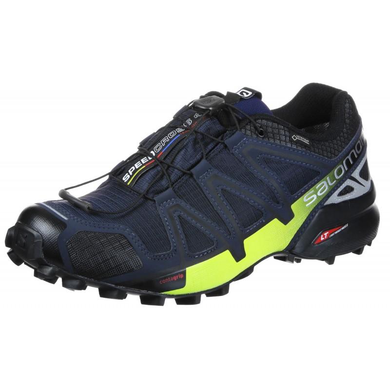313febb8ad5 SALOMON SPEEDCROSS 4 GTX NOCTURNE FOR MEN S Shoes waterproof Shoes ...