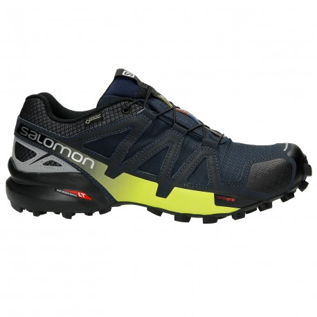 SALOMON SPEEDCROSS 4 GTX NOCTURNE FOR MEN S Shoes waterproof Shoes ... 4fedf8ec0a