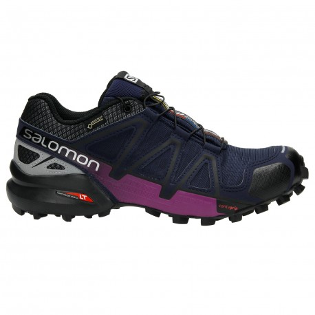 SALOMON SPEEDCROSS 4 GTX NOCTURNE FOR WOMEN S Shoes waterproof Shoes ... 3220c73929