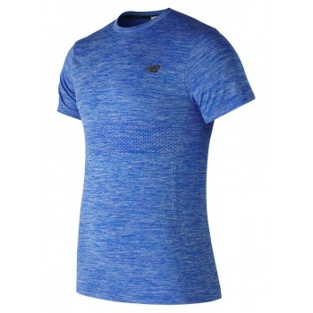 NEW BALANCE M4M SEAMLESS SHORT SLEEVE SHIRT FOR MEN'S