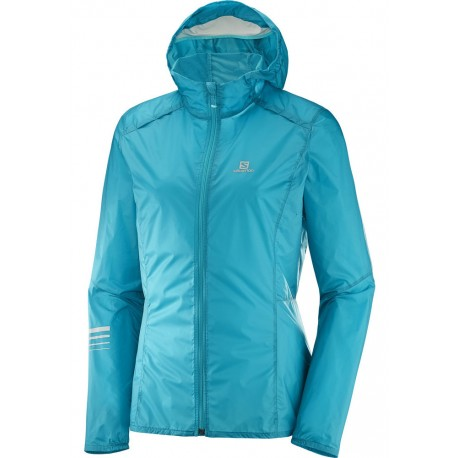 SALOMON LIGHTNING HOODIE JACKET FOR WOMEN'S