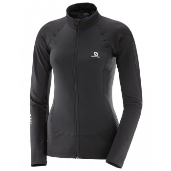 SALOMON LIGHTNING PRO FZ MIDLAYER FOR WOMEN'S