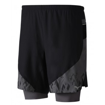 MIZUNO MUJIN SQUARE 2IN1 SHORT FOR MEN'S