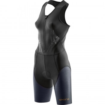 SKINSUIT SKINS DNAMIC FRONT ZIP FOR WOMEN'S