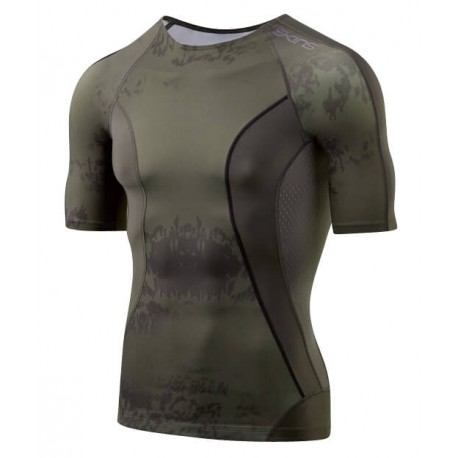 SKINS DNAMIC CORE SS TOP FOR MEN'S