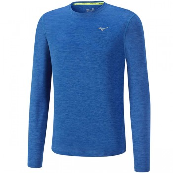 MIZUNO IMPULSE CORE LS TEE FOR MEN'S