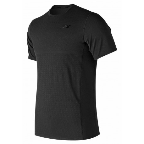 NEW BALANCE MAX INTENSITY SHORT SLEEVE SHIRT FOR MEN'S