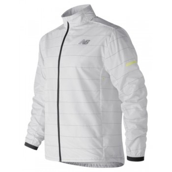 NEW BALANCE REFLECTIVE PACKABLE JACKET FOR MEN'S
