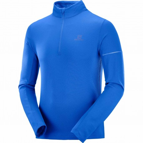 SALOMON AGILE HZ MIDLAYER FOR MEN'S