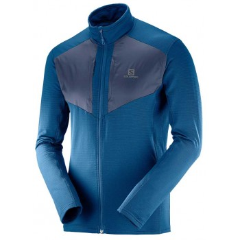 SALOMON GRID FZ MIDLAYER FOR MEN'S