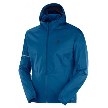 SALOMON AGILE FZ HOODIE FOR MEN'S