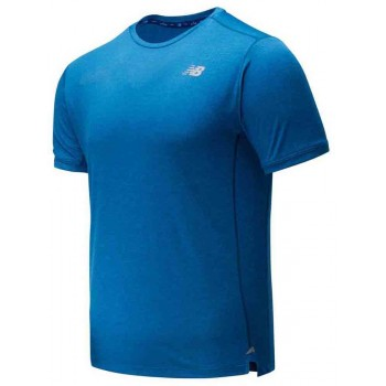 NEW BALANCE IMPACT SHORT SLEEVE SHIRT FOR MEN'S
