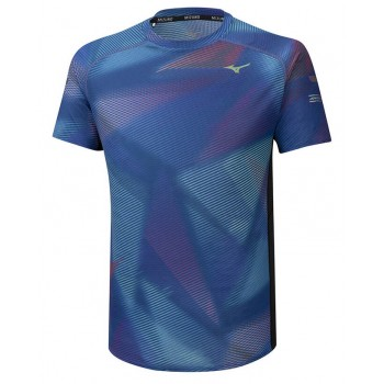 MIZUNO AERO GRAPHIC SS SHIRT FOR MEN'S