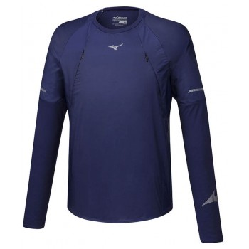MIZUNO HINERI HYBRID LS TEE FOR MEN'S