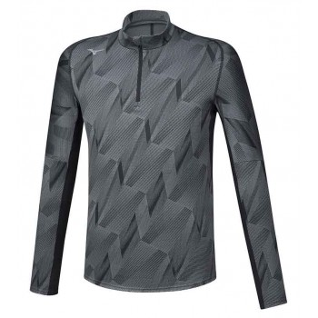 MIZUNO JACQUARD GRAPHIC HZ MIDLAYER FOR MEN'S