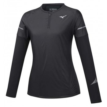 MIZUNO HINERI HYBRID LS TEE FOR WOMEN'S