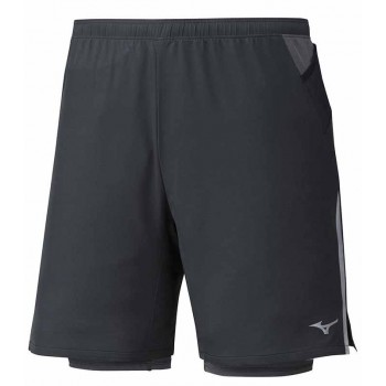 MIZUNO ER 7.5 2IN1 SHORT FOR MEN'S