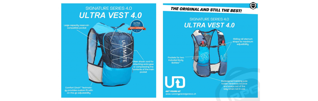 wholesale dealer 5b7bf 3c7e8 Ultimate Direction Ultra vest 4.0 Running Planet Geneva ...