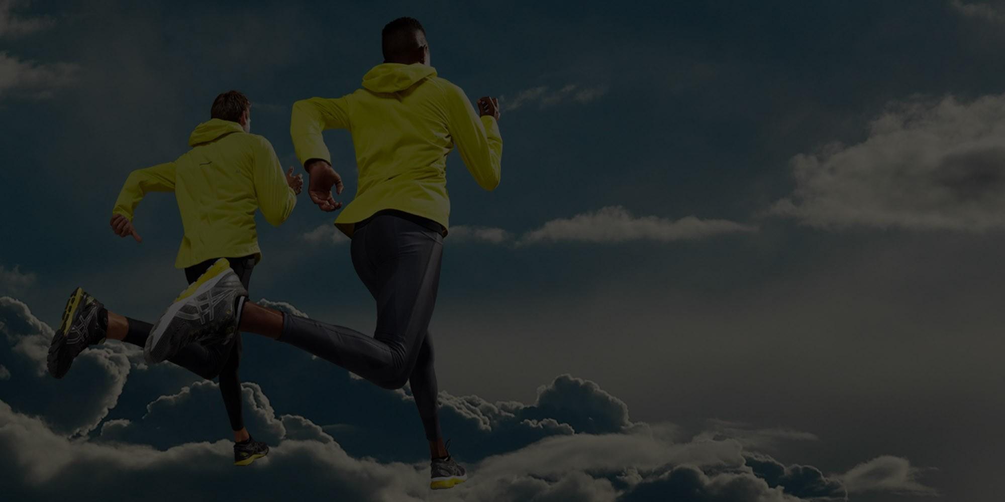 Asics running and trail running